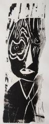4. Armer Religionslehrer, Holzschnitt 40 x 15 cm