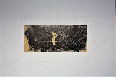 1. Holzschnitt - Eigenart, 16 x 36 cm
